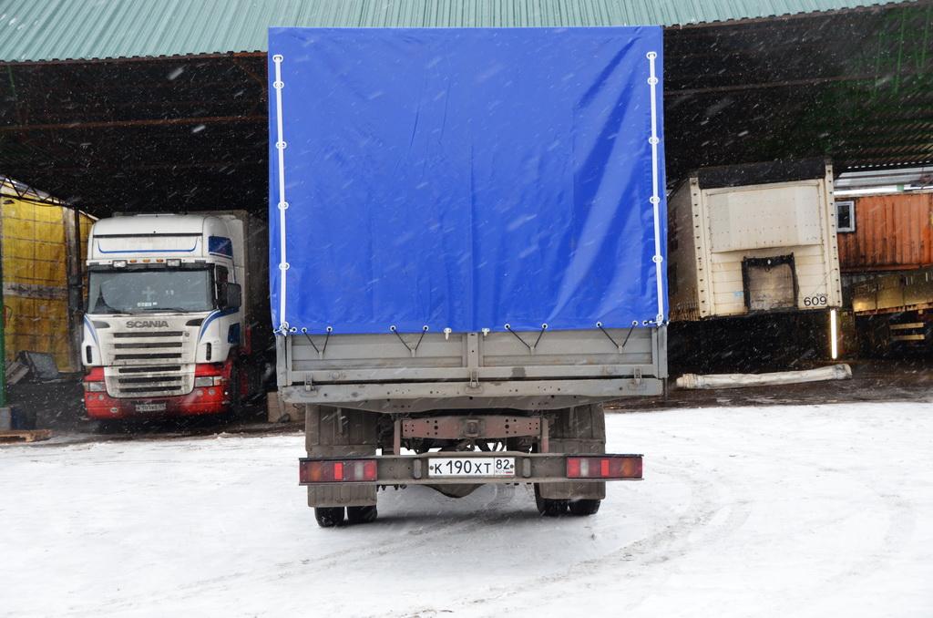 Изготовление каркаса и тента на автомобиль «ГАЗ-33104»