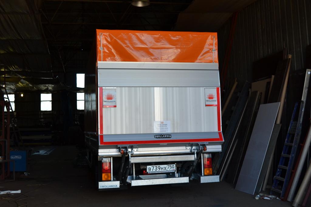 Изготовление тента на грузовое авто Hyundai HD78