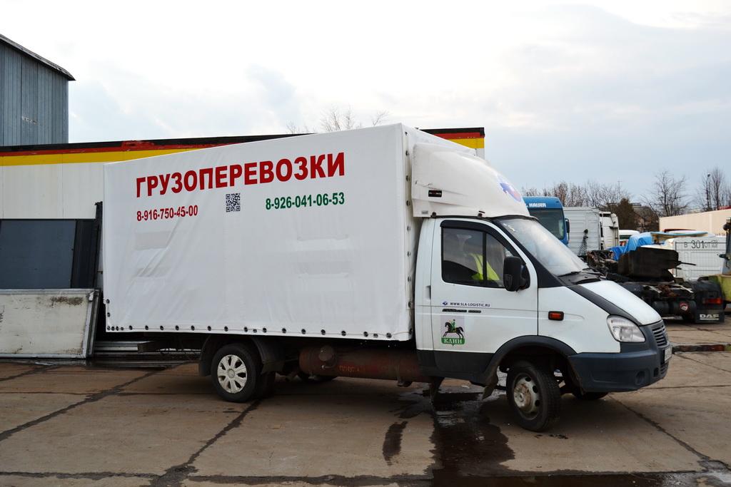 Каркас и тент с рекламой на «Газель» 4 метра в Москве