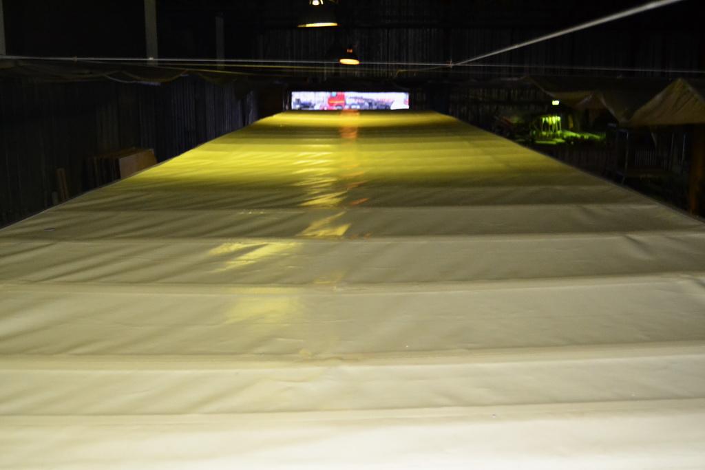 Крыша тента полуприцепа Krone