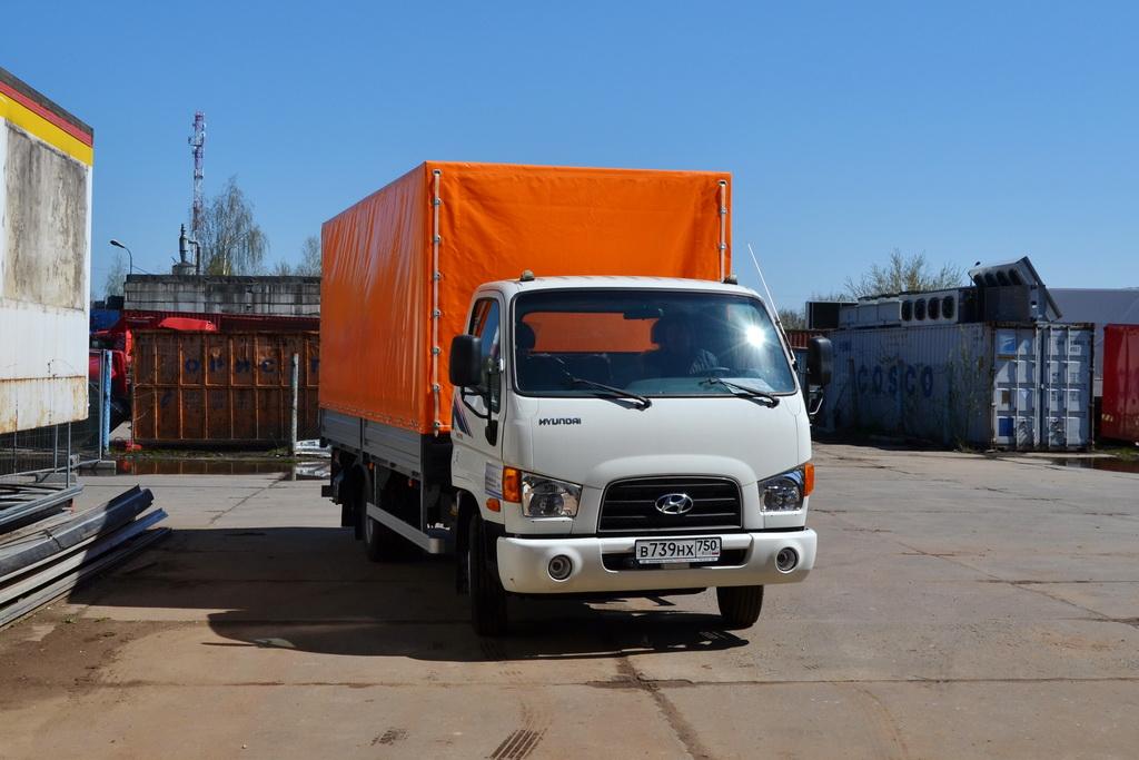 Тент на грузовик Hyundai HD78