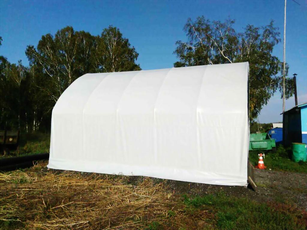 Тент для гаража-палатк
