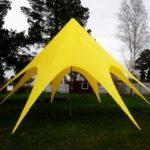 Одномачтовые шатры