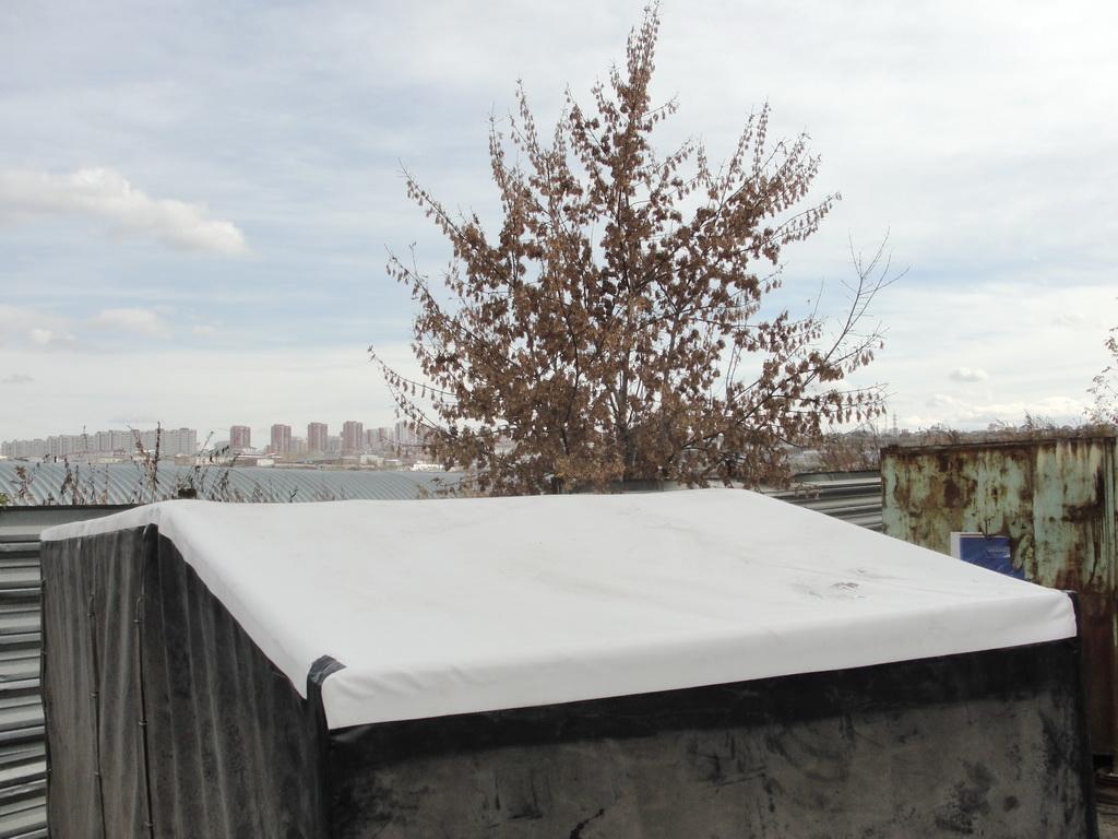 Замена крыши легкового прицепа