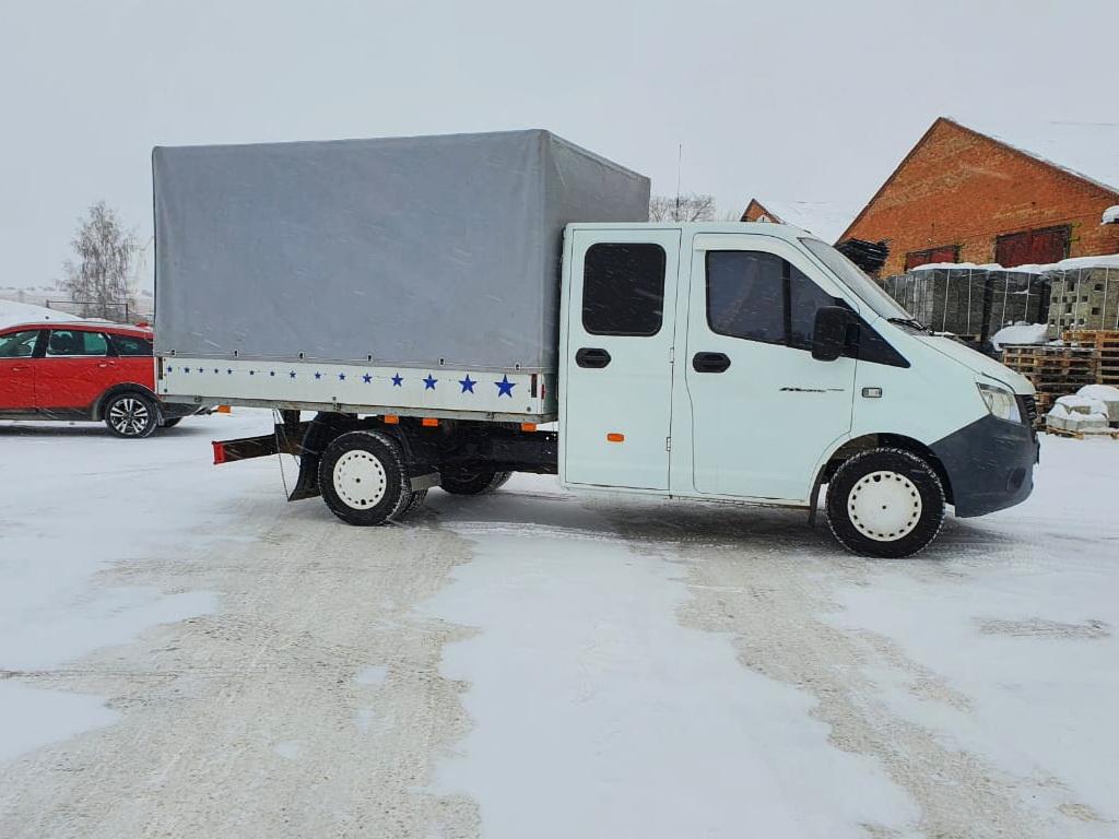 Изготовление тента на грузовик «Газель Фермер Next»