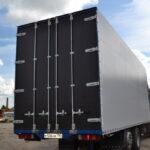 Задние распашные ворота на грузовой автомобиль Scania